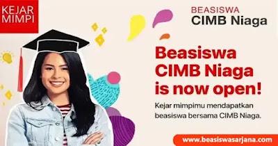 Beasiswa CIMB Niaga 2021
