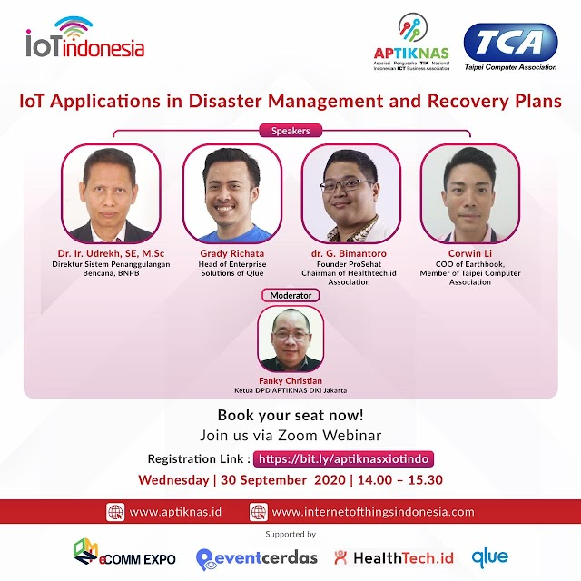 Dokumentasi IoT Talks IOT APPLICATION IN DISASTER MANAGEMENT AND RECOVERY PLANS - 30 SEP 2020