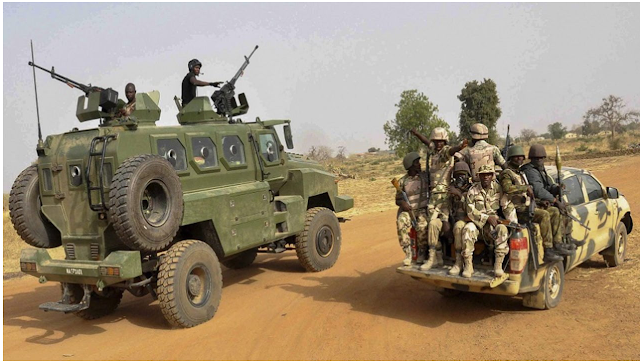 Xmas: soldiers kill bandits, foil attacks on commuters in Benue and Plateau