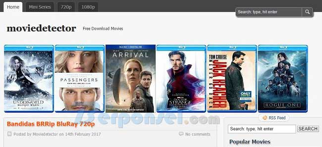 tempat download film movie detector