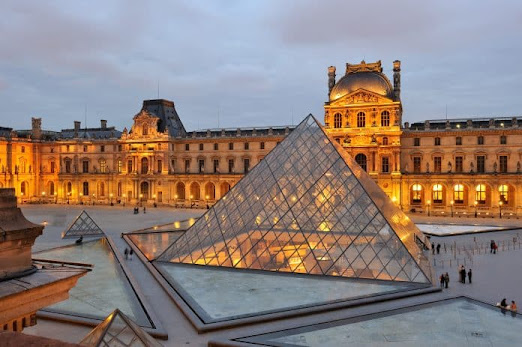 Musee du Louvre a Famous Museum in the of Paris City