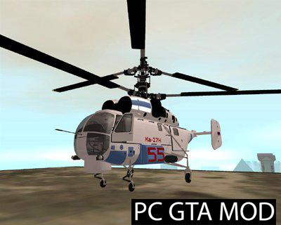Free Download KA-27H  Mod for GTA San Andreas