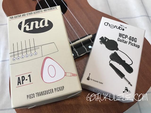 external ukulele pickups