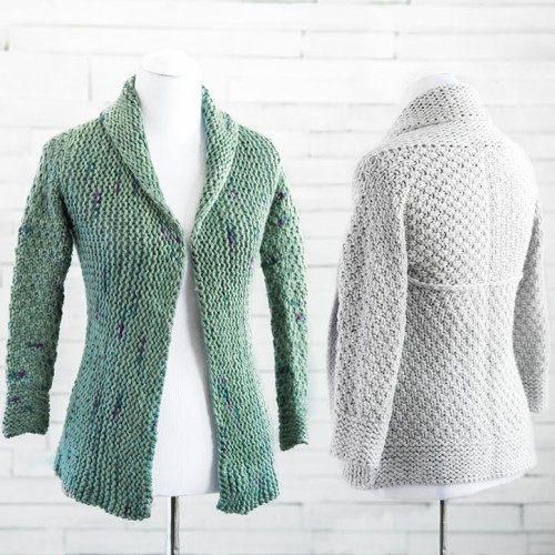 Courie In Sweater Knitting Kit - Printed Pattern