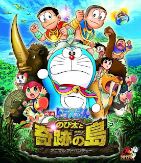 Download Film Doraemon: Nobita and the Island of Miracles - Animal Adventure (2012) Hardsub Indonesia