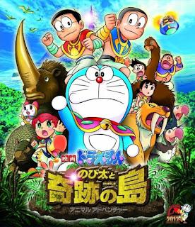 Download Film Doraemon: Nobita and the Island of Miracles – Animal Adventure (2012) Hardsub Indonesia