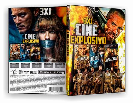 DVD Coleção - Trilogia Cine Explosivo - ISO