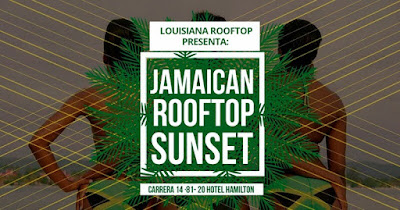 JAMAICAN ROOFTOP SUNSET #5 - 2