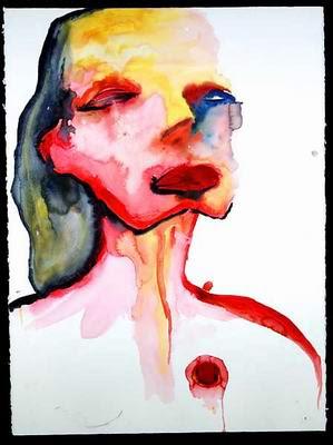 Sympathy Generator, pintura de Marilyn Manson.