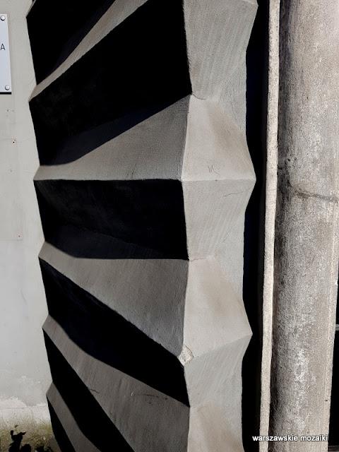 Warszawa Warsaw kamienica architektura architecture Ochota Dom Spółdzielni Mieszkaniowej profesorów Wolnej Wszechnicy Polskiej Marcin Weinfeld lata 30 szara cegła detal