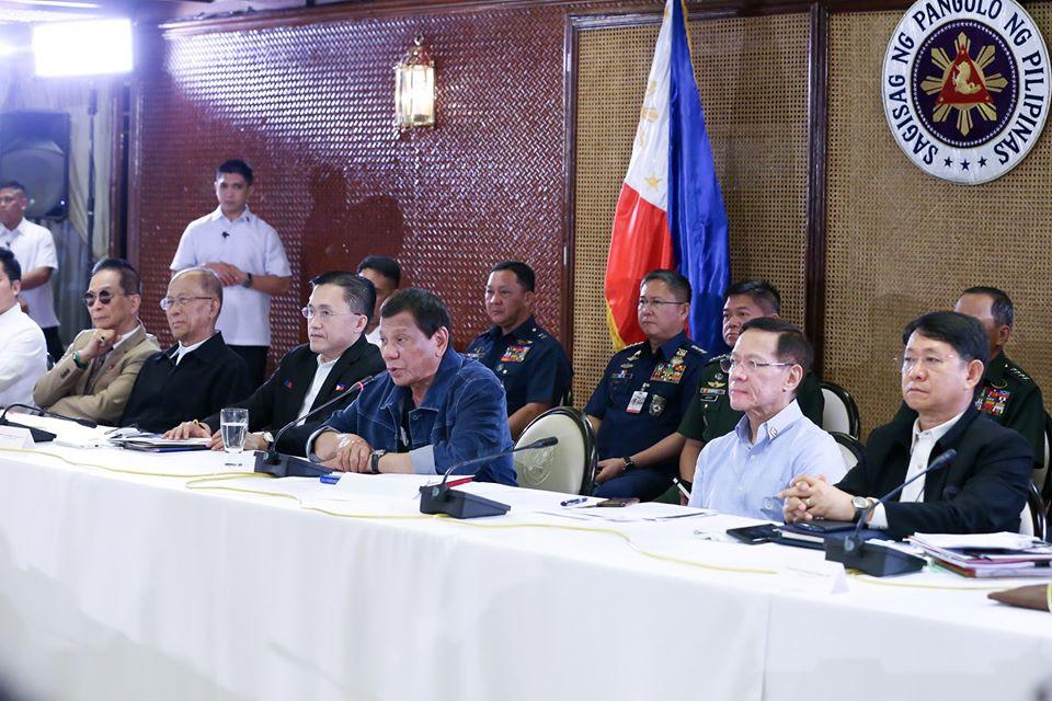 President Rodrigo Duterte's public address on March 12 amid COVID-19 pandemic