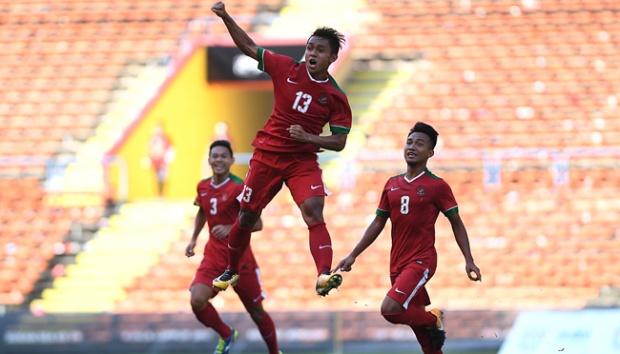 Timnas Indonesia U-22 Selebrasi