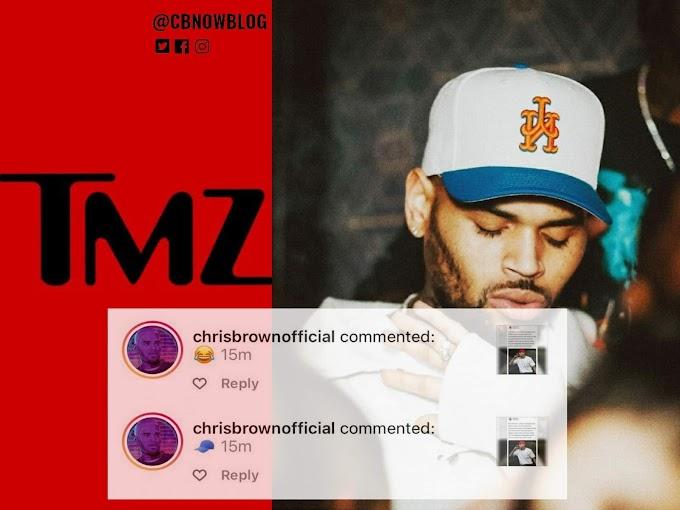 TMZ volta a atacar Chris Brown e faz acusação sem provas.