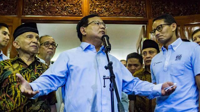 Kasus Ratna Sarumpaet, Prabowo dan Sandiaga Siap Diperiksa Polisi