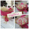 Handbouquet Rose mix Cryssant