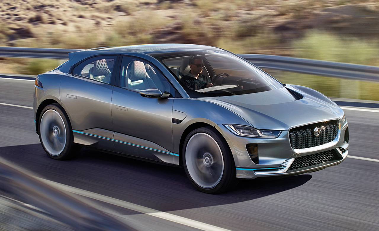 All Types all cars : Cars: The all new Jaguar I-Pace Concept: 400 HP, All-Wheel Drive ...