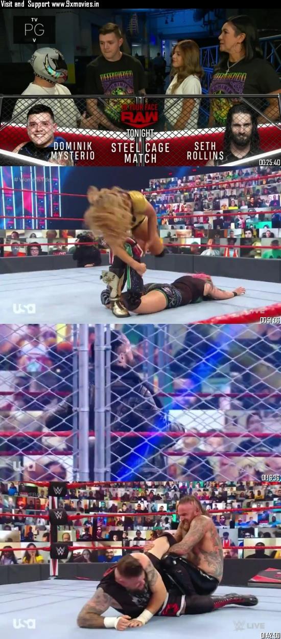 WWE Monday Night Raw 14 September 2020 HDTV 720p 480p 500MB