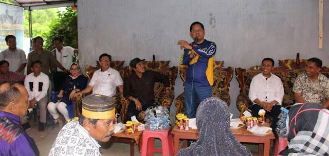 Ketua DPW Nasdem Sulsel Turun Tangan Menangkan Syamsari Kitta-Ahmad Dg Se're