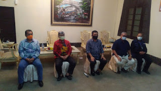 Rapat Koordinasi   Kepala Daerah Se Wilayah Kota CIAYUMAJA KUNING Dalam  Rangka Evaluasi PSBB