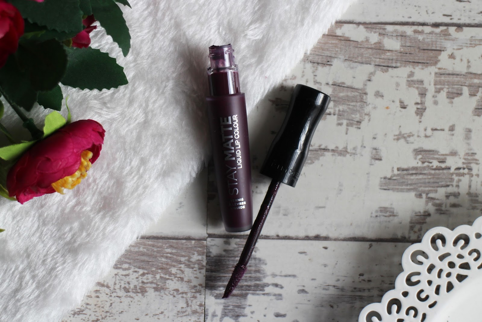 Rimmel Stay Matte Liquid Lip Colour in Midnight
