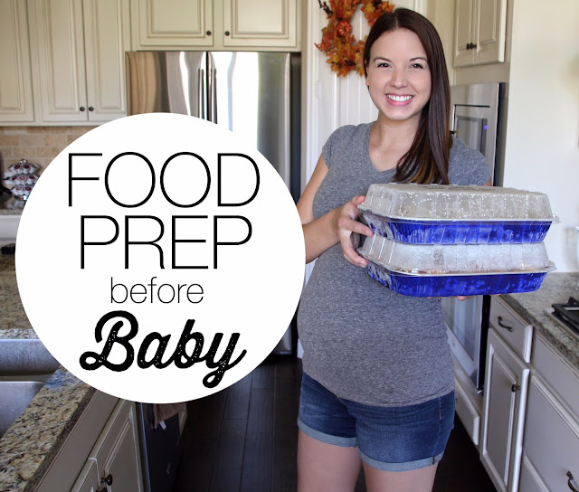 Food Prepping Before Baby Arrives