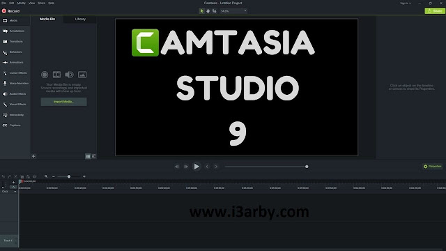 Camtasia Studio 9 للكمبيوتر