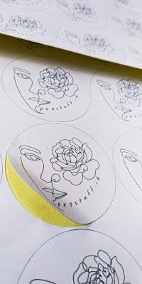 Stiker Label Cutting Bulat