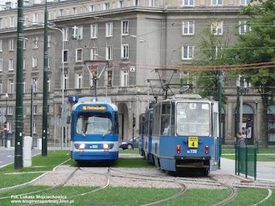 Duewag GT8S i Konstal 105Na, MPK Kraków