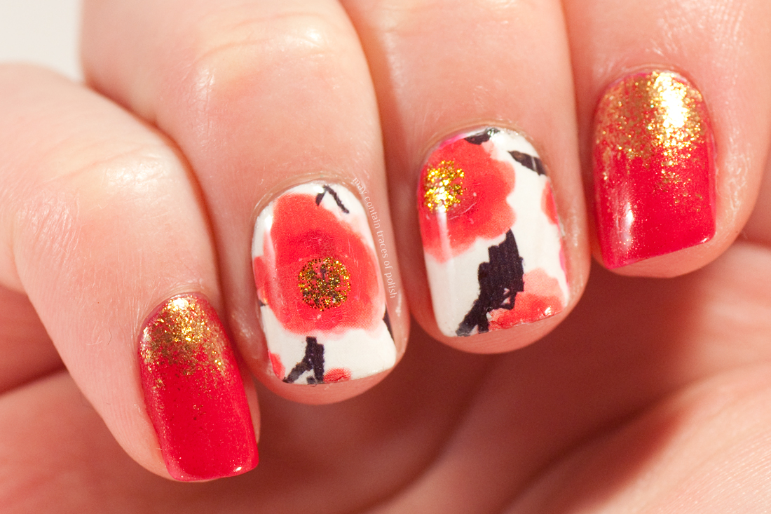 Red Poppy Nails May Contain Traces Of Polish