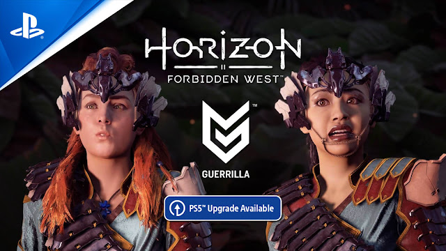 horizon forbidden west free ps5 upgrade ps4 version open-world action role-playing game guerrilla games playstation sony interactive entertainment february 18, 2022