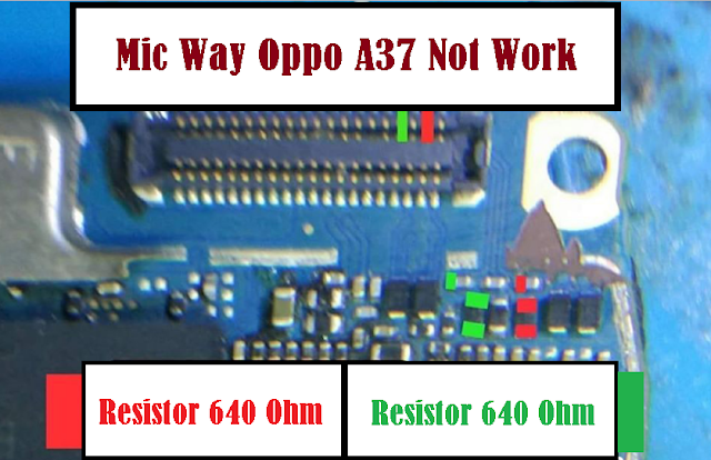 Repair Solution Mic OPPO A37 Not Work