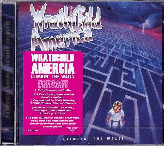 WRATHCHILD AMERICA - Climbin' The Walls [Rock Candy remastered] (2016) full