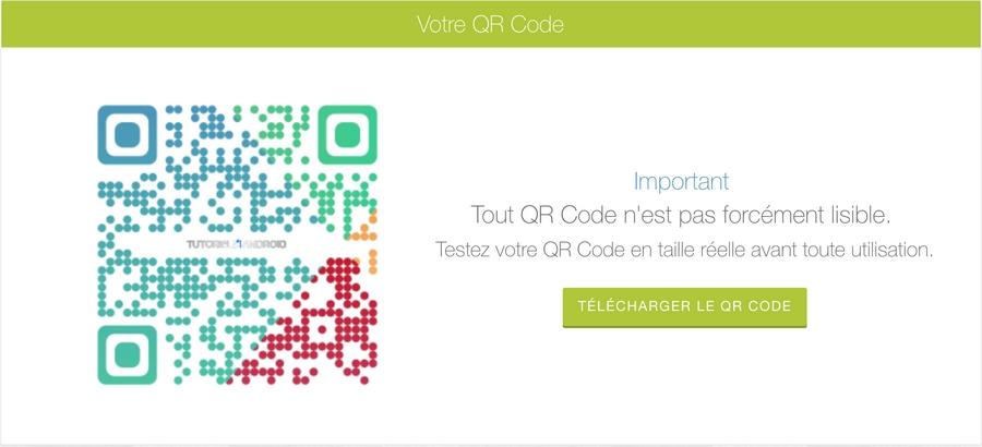 Test de code QR