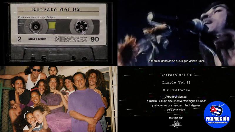 X Alfonso - ¨Retrato del 92¨ - Videoclip - Director: X Alfonso. portal Del Vídeo Clip Cubano. Música cubana. Canción. Cuba.