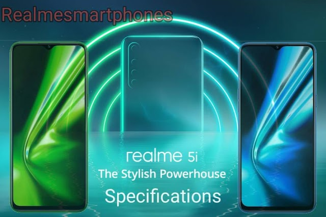 Realme 5i will launch on 9 January. It has a quad camera setup and 5000mAh battery.