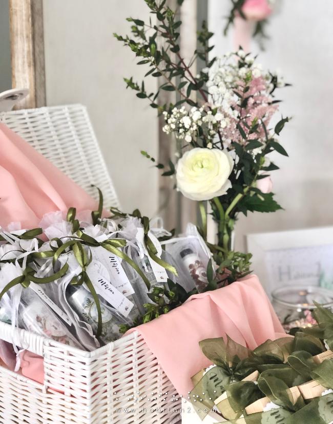 Rincón para detalles de invitados a comunión by Habitan2 | Eventplanner y diseño de papelería personalizada