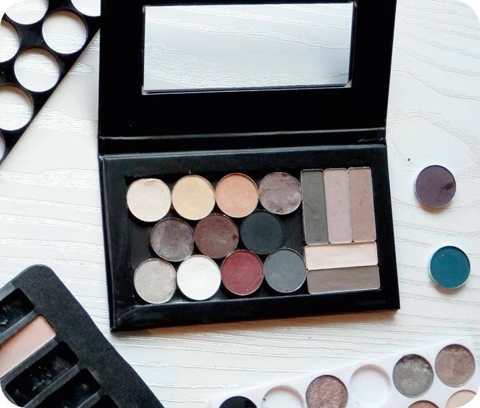 Paleta sombras ojos DIY