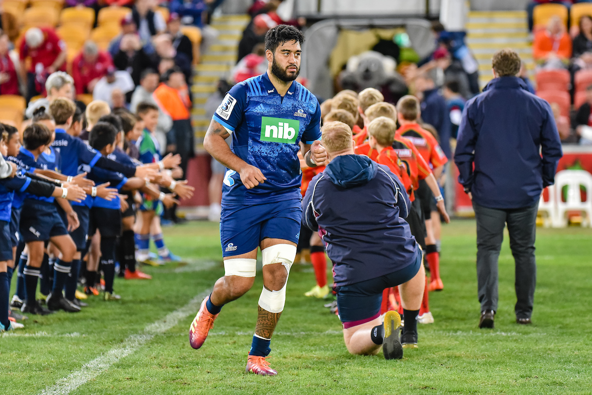 Akira Ioane of the Blues