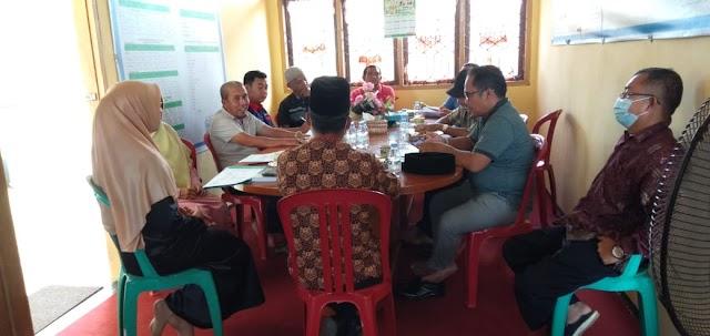 Temurama dengan Ketua Komite SMA N 1 Sungai Beremas