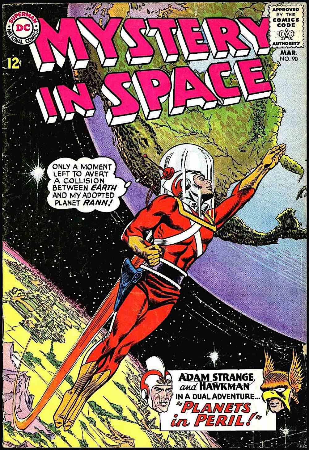 Carmine Infantino, Mystery in Space