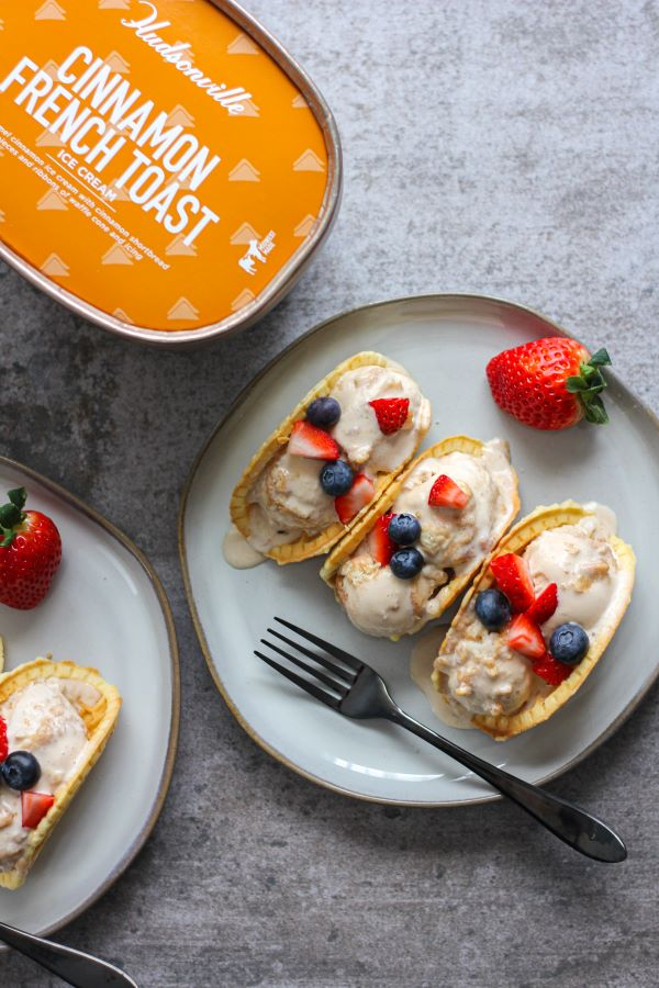 Cinnamon French Toast Breakfast Tacos | The Chef Next Door