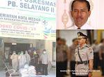 Kombes Pol Purn Dr. Maruli Siahaan Serahkan Bantuan Sembako Kepada Petugas Medis