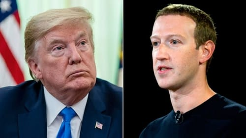 Report: Zuckerberg warned Trump about the rise of Chinese tech companies