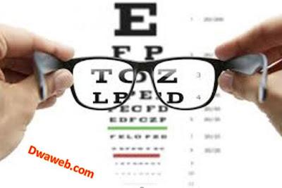 الحفاظ على صحة النظر