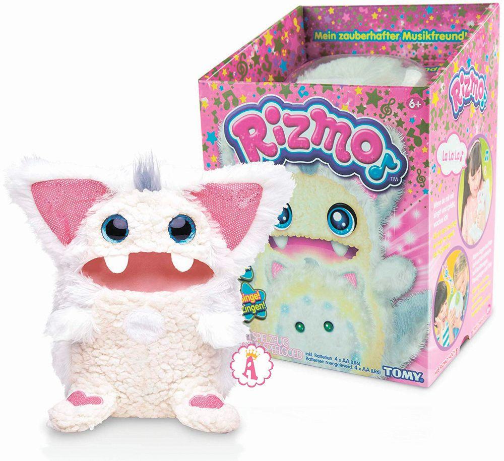 Имена игрушек Rizmo: Snow, Berry, Aqua