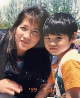 Othani With His Mother