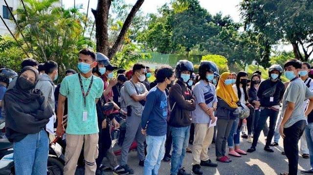 Demo Karyawan PT di Batam, Keluhkan TKA Cuma Komunikasi Pakai Bahasa China