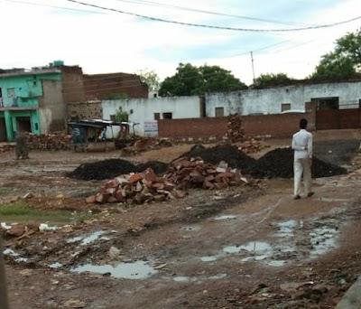 बैराड़ में भूमाफिया को खुला संरक्षण, बिजली विभाग की जमीन पर कब्जा | Bairad News