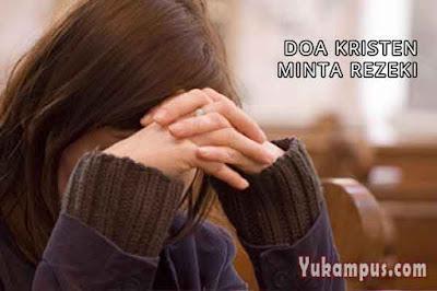 contoh doa kristen minta rezeki