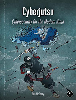 Cyberjutsu - non-fiction security book promotion sites Ben McCarty